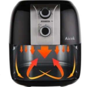 sistema circolo aria friggitrice ad aria calda aicok ahf001