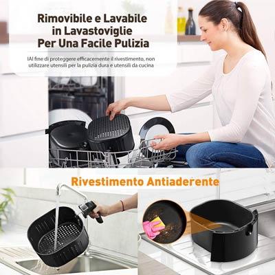 habor omorc si può lavare in lavastoviglie il cestello e le parti removibili