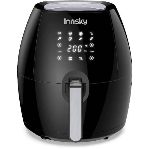 friggitrice ad aria calda innsky 5,5 L tonda recensione