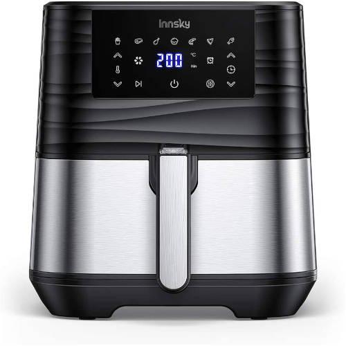 friggitrice ad aria innsky 5,5 lt quadrata