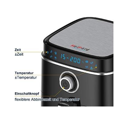 pannello di controllo friggitrice heipard
