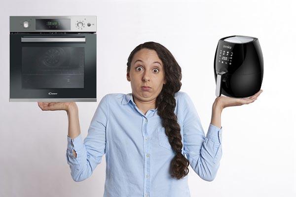 differenza fra forno e friggitrice ad aria