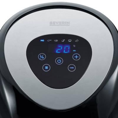 display a led e pannello di controllo friggitrice ad aria Severin fr 2430