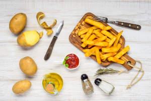 patate fresche cotte nella friggitrice ad aria ricetta
