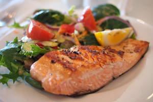 tranci di salmone con la friggitrice ad aria