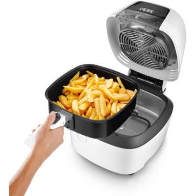 friggitrice De'Longhi fh2133.w con patatine fritte