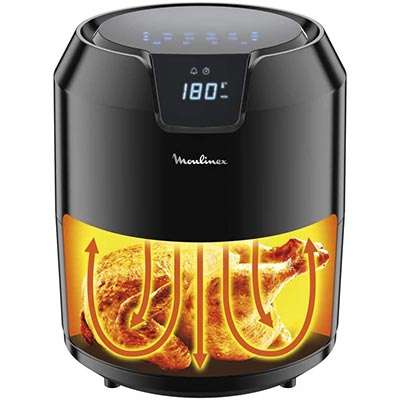 tecnologia air pulse friggitrice ad aria moulinex ez4018