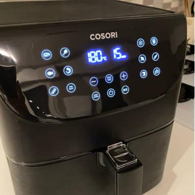 display friggitrice ad aria calda cosori cp158-af