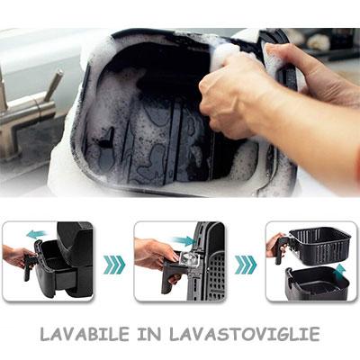 cestello cosori cp158-af lavabile in lavastoviglie