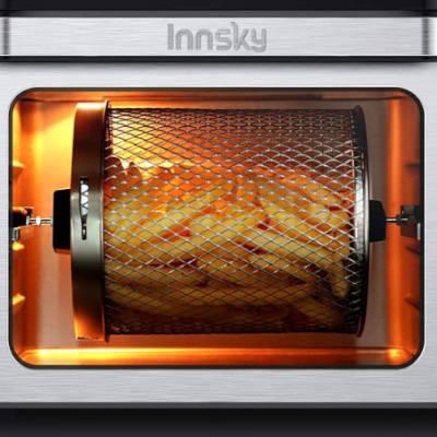 cestello girevole friggitrice innsky a fornetto da 10 litri