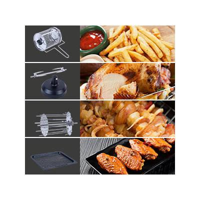 accessori airfryer uten a forno 10l