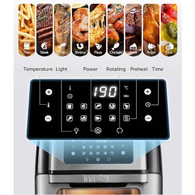 programmi preimpostati friggitrice ad aria a forno innsky is-af002