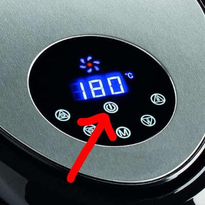 accensione friggitrice ad aria ariete 4618