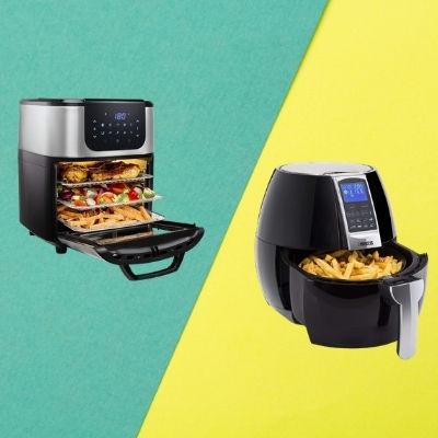 differenze tra friggitrici ad aria a cassetto e a fornetto