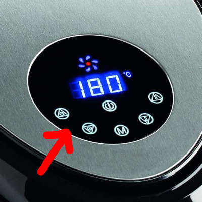 impostare timer friggitrice ariete 4618