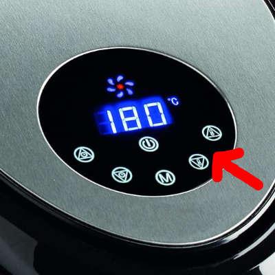 impostare temperatura friggitrice ad aria ariete 4618