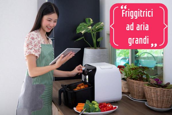 friggitrici ad aria grandi