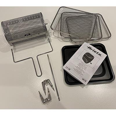 accessori friggitrice ad aria ariete 4619