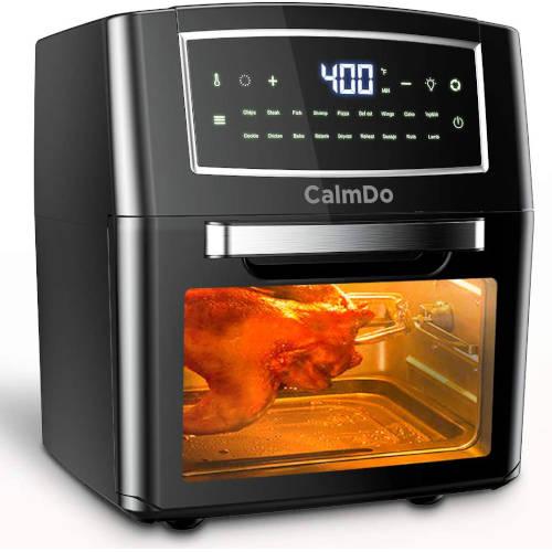 friggitrice ad aria calda calmdo 12 litri