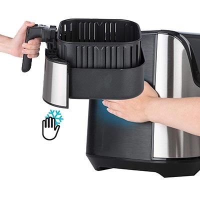 friggitrice ad aria calda klarstein aero vital deluxe