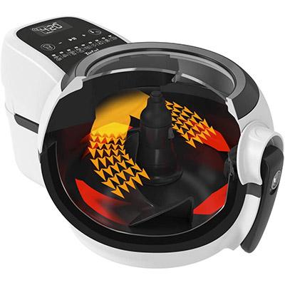 tecnologia dual motion friggitrice ad aria calda tefal actifry fz7600