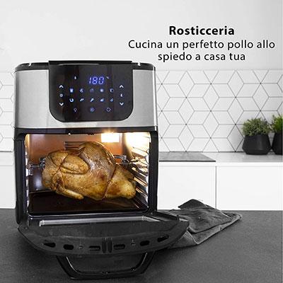 pollo allo spiedo con la friggitrice ad aria princess 182075