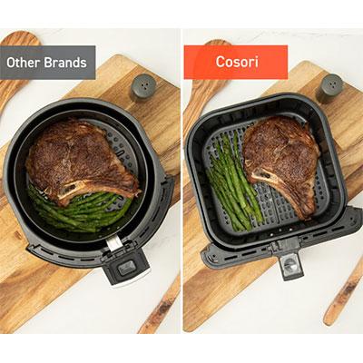 differenza tra friggitrice tonda e quadra