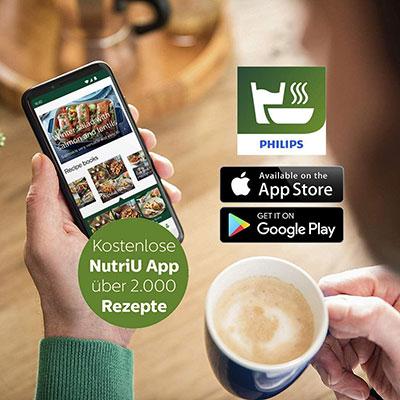 app per smartphone Philips Airfryer XL HD926090 Friggitrice ad aria