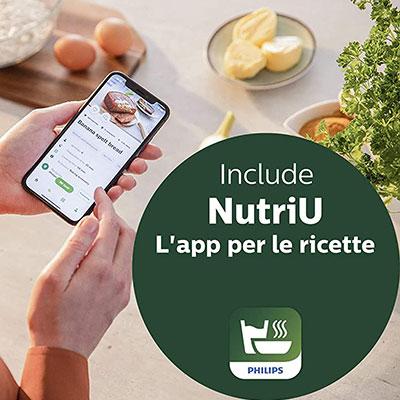 app per smartphone nutriu Philips HD965290 Airfryer XXL
